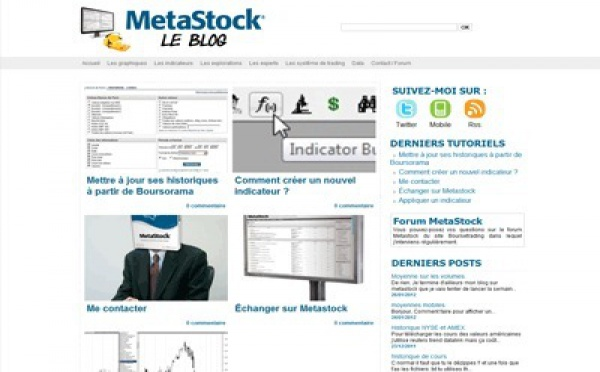 Blog Metastock